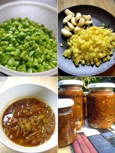 Chutney aus grünen Tomaten - so wird´s gemacht!