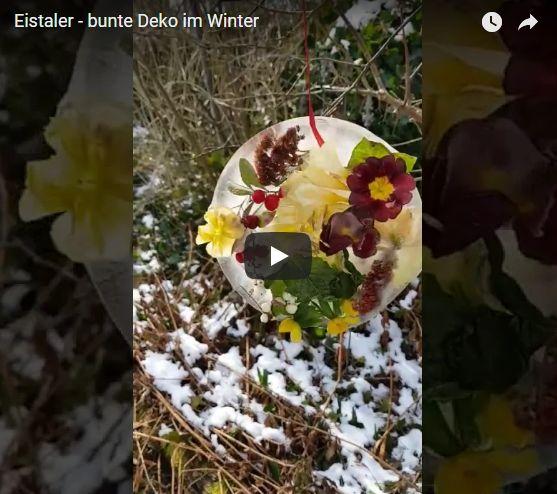 eistaler winterdeko - Eistaler basteln - Winterspaß für Groß und Klein - tierleben