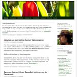 Das alte Design der Website freisinger-gartenblog.de war nicht barrierefrei, aber auch sonst relativ gedrängt