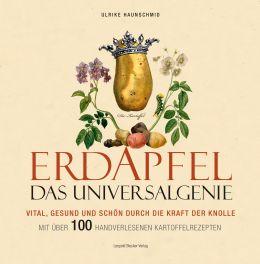 Buchcover mit einer künstlerischen Darstellung der Kartoffel als Königin des Gemüses