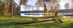 Gläsernes Haus auf dem Gelände der Messe GARTEN outdoor ambiente