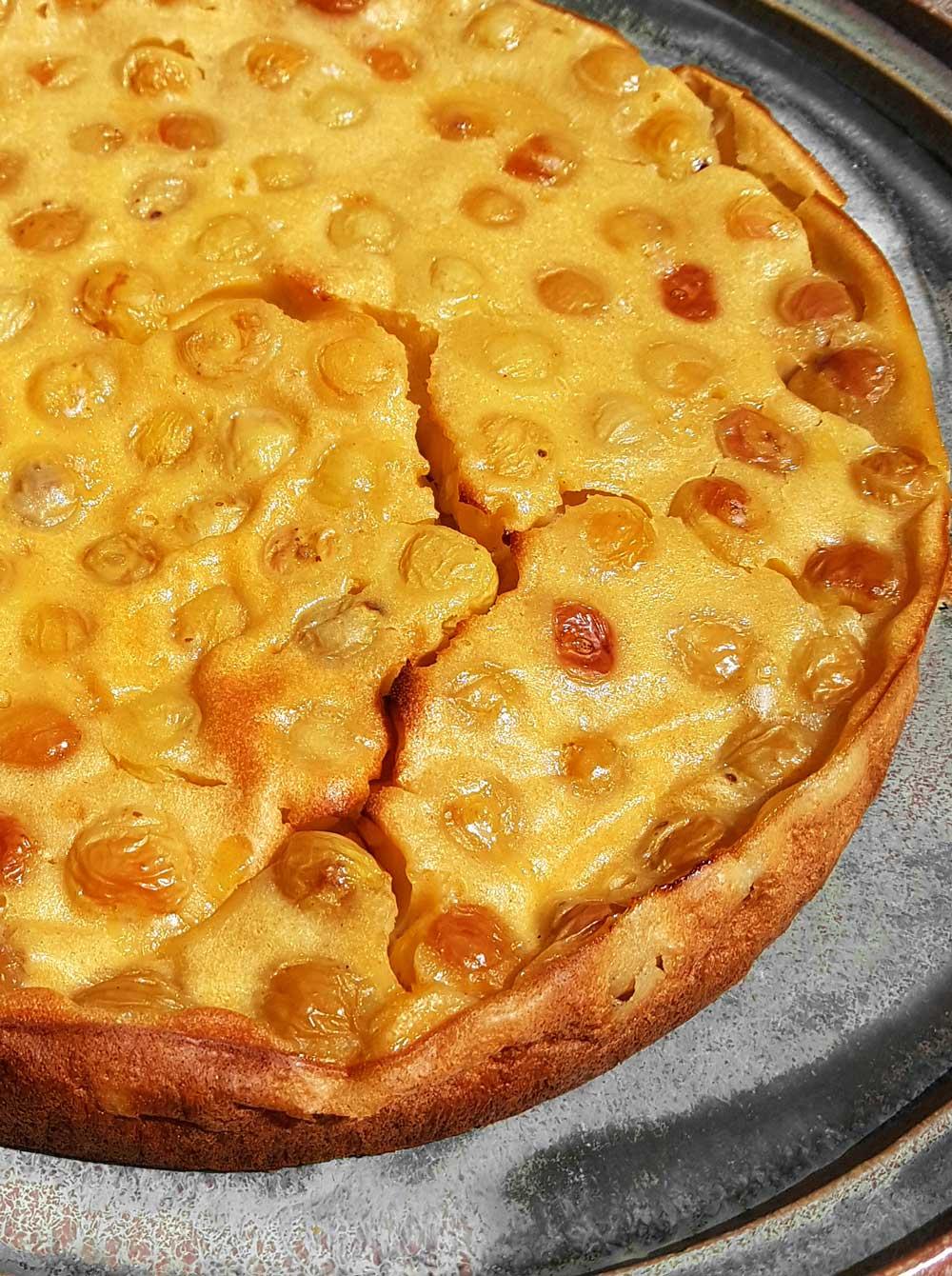 Clafoutis Rezept Mit Gelben Kirschen Kirschkuchen Super Einfach