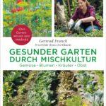 Cover mit drei Bildern: Dill mit Mohn, Gärtnerin beim Arbeiten, Mischkultur in Reihen