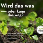 Cover mit kleinen Pflanzen und weißer Schrift