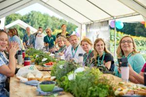 Gruppenfoto der Gartenblogger