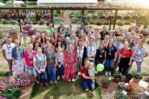 Gruppenbild der Gartenblogger 2019