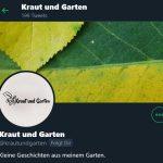 Screenshot Gartenblogger bei Twitter