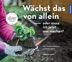 Cover des Gartenpraxis-Ratgeber mit Erdbeerpflanze