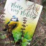 Cover Naturgarten-Buch mit Blaumeise
